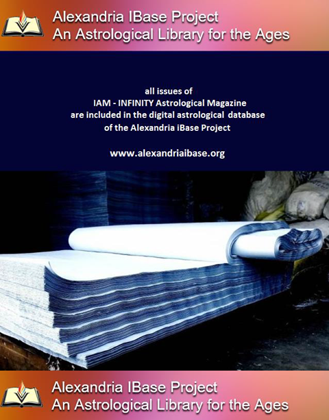 I.A.M. – Infinity Astrological Magazine & The Alexandria iBase Project