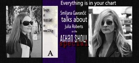 Smiljana Gavrančić talks about Julia Roberts on the Athan Show Special – Tuesday, 4th April 2017