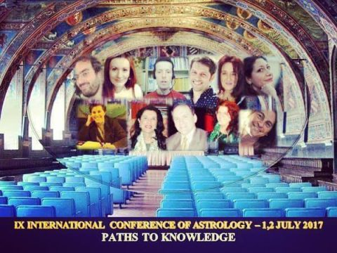 IX Astrological Conference, Perugia (ISAR Italy) – 1st-2nd July, 2017 – PATHS TO KNOWLEDGE